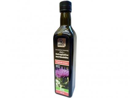 Bio Panenský olej z ostropestřce mariánského 500 ml - lahvička Irel