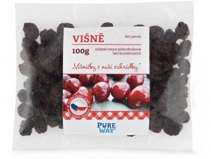 Višně vypeckované 100g Pure Way