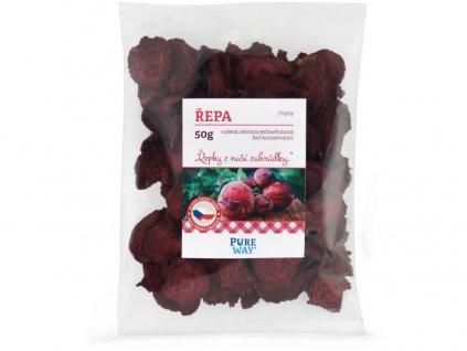 Červená řepa - chipsy 50g Pure Way