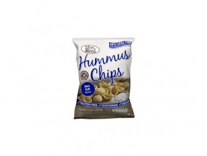 Hummus chipsy – s mořskou solí 45g EatReal