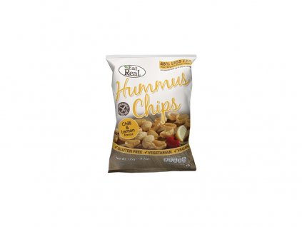 Hummus chipsy – chilli a citron 45g EatReal