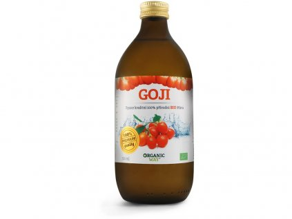 Bio Goji 100% šťáva premium quality 500ml Organic Way