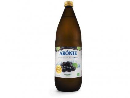 Bio Arónie 100% šťáva premium quality 1000ml Organic Way
