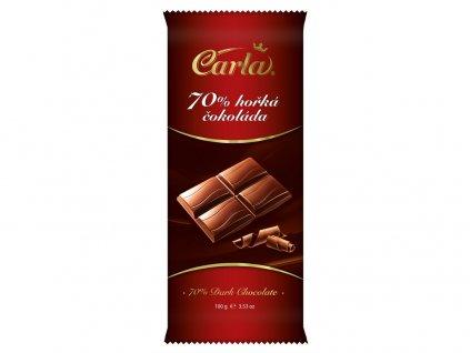Hořká čokoláda 70% 100g Carla