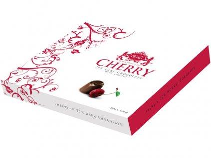 Višeň v hořké čokoládě 70% 190g Carla