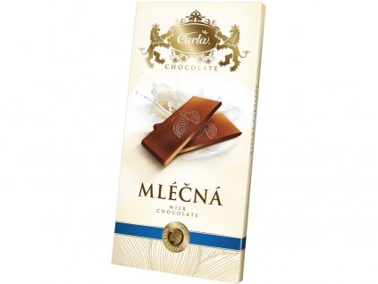 Mléčná čokoláda - obdélník 80g Carla