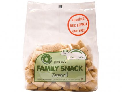 Family snack Caramel 165g Family snack