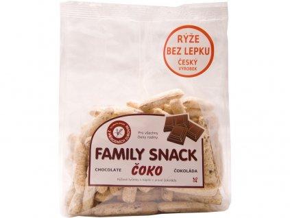 Family snack Čoko 165g Family snack