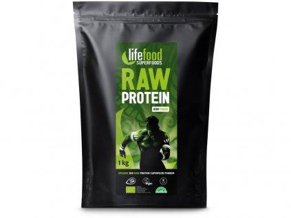 Bio protein konopný raw - gastro 1 kg Lifefood