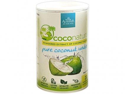 Coco natural 140g Tubus - instantní kokosová voda Altevita