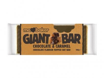 Tyčinka Obří Smoothie Čokoláda + Karamel 100g Ma Baker