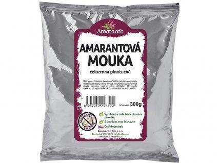 Amarantová mouka celozrnná plnotučná 300g Amarath