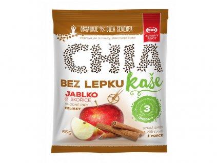 Chia kaše bez lepku jablko skořice 65g Semix