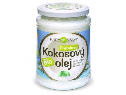Bio Kokosový olej panenský 600ml Purity Vision
