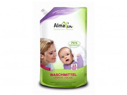 AlmaWin Tekutý prášek na praní v ekonomickém balení 1,5l AlmaWin