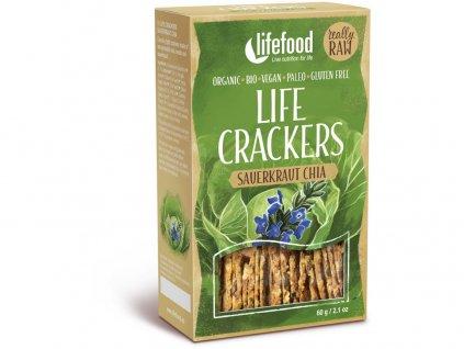 Bio Life crackers Zelánky RAW 60 g Lifefood