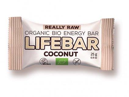 Bio tyčinka Lifebar kokosová RAW 25g Lifefood