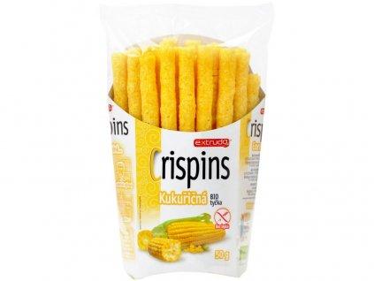 Bio Crispins tyčka kukuřičná 50g Extrudo
