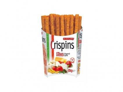 Crispins tyčky pizza 60g Extrudo