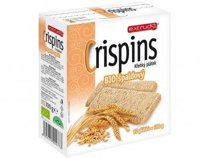 Bio Crispins špaldový plátek 100g Extrudo