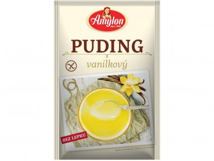 Puding vanilkový 40g bezlepkový Amylon