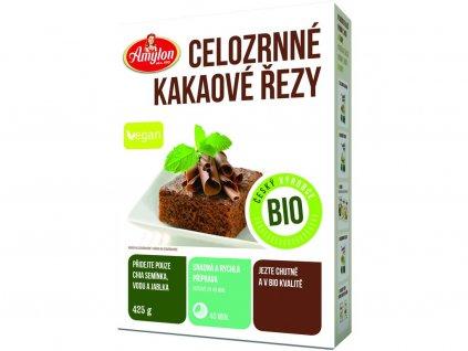 Bio kakaové řezy celozrnné 425g Amylon