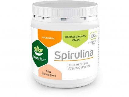 Spirulina 750 tablet Topnatur