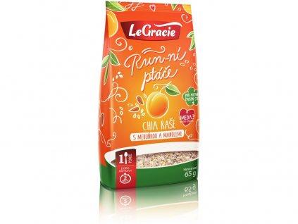 Ovocná bezlepková kaše meruňka, mandle 65g LeGracie