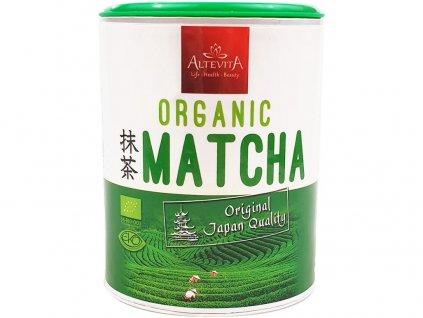 Bio matcha zelený čaj 100g tubus Altevita