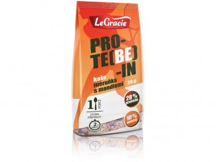 Bezlepková proteinová kaše PRO-TE(BE)-IN meruňka s mandlemi 50g LeGracie