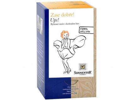 Bio bylinný čaj s kořením Ups! 30,6g Sonnentor