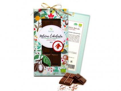 Bio čokoláda s chilli - mléčná 80g Naturalis