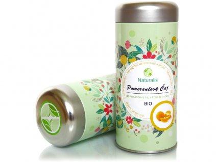 Bio čaj pomerančový 70g Naturalis