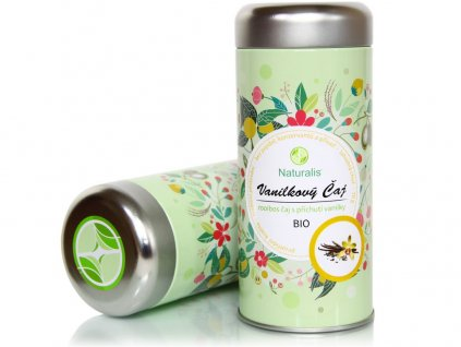 Bio čaj vanilkový 70g Naturalis