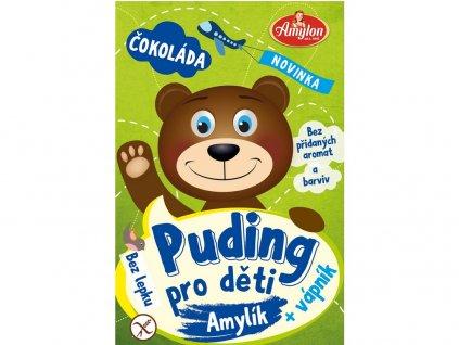 Puding čokoládový pro děti 40g - bez lepku Amylon