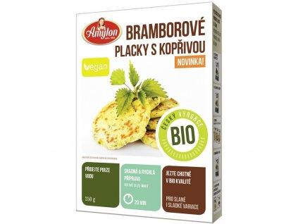 Bio bramborové placky s kopřivou  250g Amylon