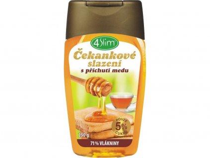 Čekankové slazení s přích.medu 250 g 4Slim
