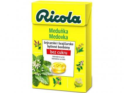 Meduňka 40g bez cukru Ricola