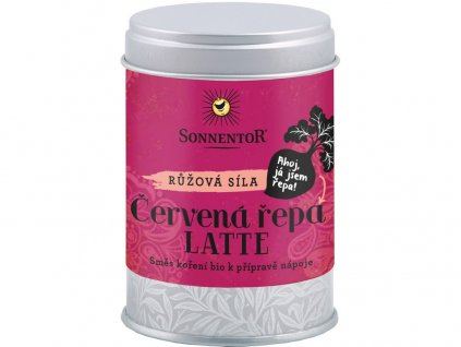 Bio Červená řepa Latte 70g dóza (pikantní kořenící směs) Sonnentor