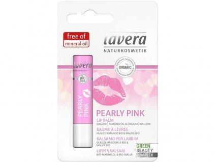 Lavera Balzám na rty Pearly Pink 4,5g Lavera