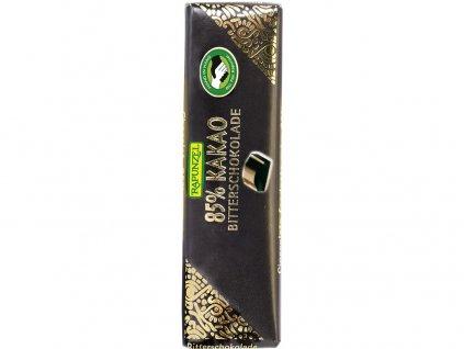 Bio mini hořká čokoláda 85% RAPUNZEL 20 g Rapunzel