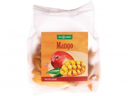 Bio sušené mango plátky 80 g Bio nebio