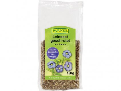 Bio lněné semínko drcené RAPUNZEL 150 g Rapunzel