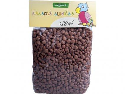 Bio kakaová sluníčka rýžová 200 g Bio nebio