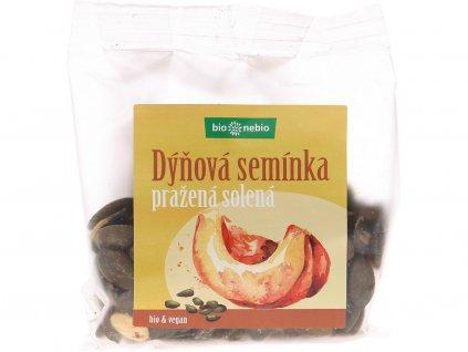 Bio dýňová semínka pražená solená 100 g Bio nebio