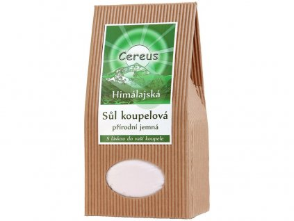 Koupelová sůl jemná 1kg Cereus