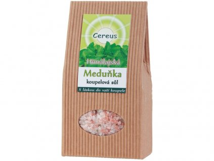 Koupelová sůl meduňka 500g Cereus