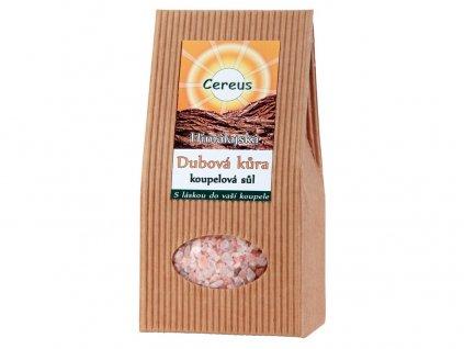 Koupelová sůl dubová kůra 500g Cereus