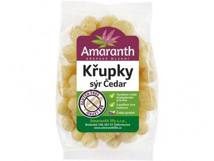 Křupky sýr čedar 70g Amarath