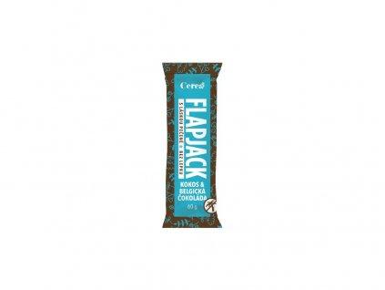 Ovesná tyčinka Flapjack Kokos - Belgická čokoláda 60g Cerea